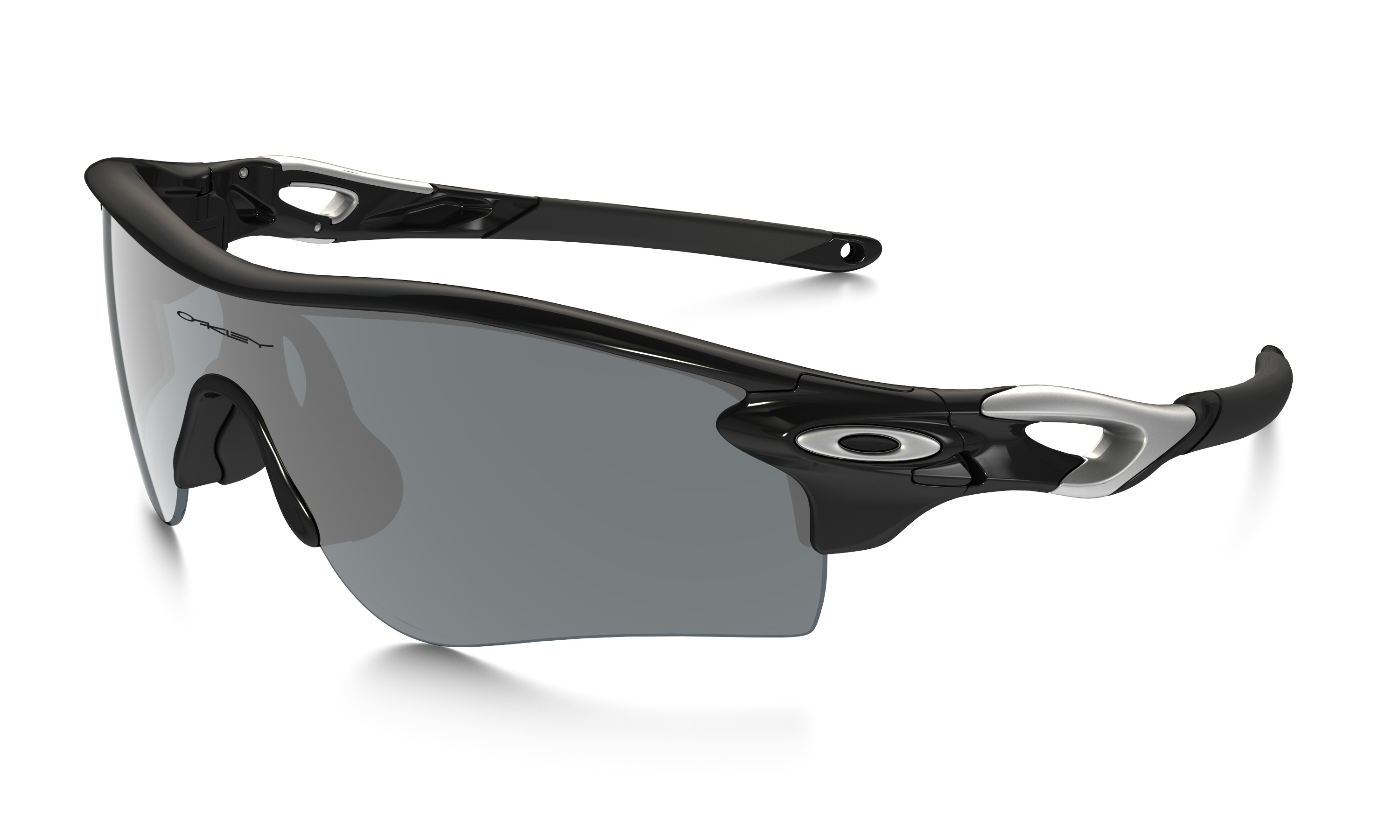 9084a2cbace RADARLOCK PATH MATTE BLACK INK   RED IRIDIUM POLARIZED - Bells Cycling